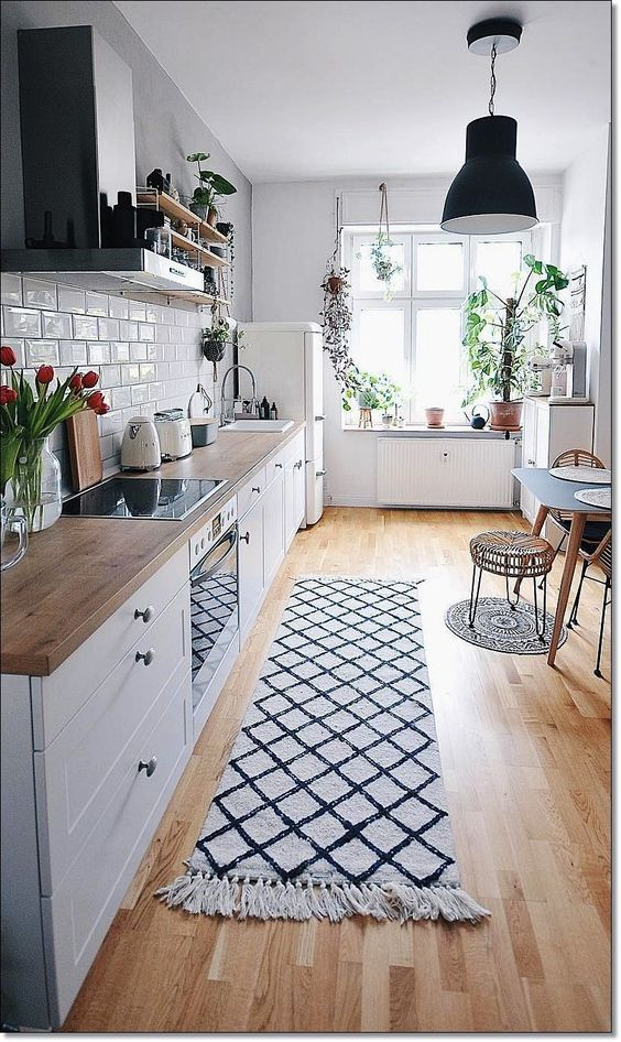 separate zones These 40+ Kitchen Decor Ideas Will Inspire You To Renovate Yours