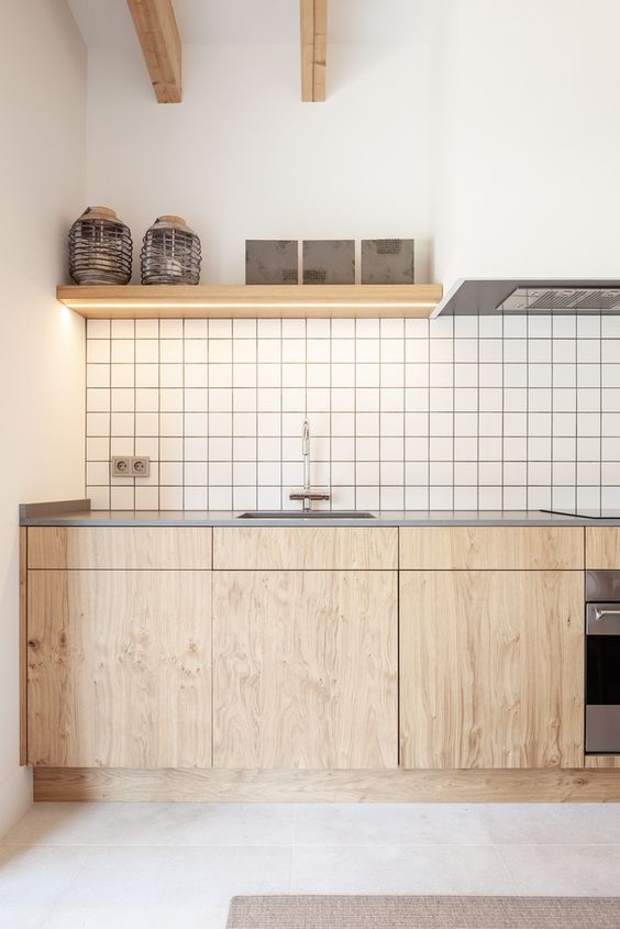 simple plywood cabinets These 40+ Kitchen Decor Ideas Will Inspire You To Renovate Yours