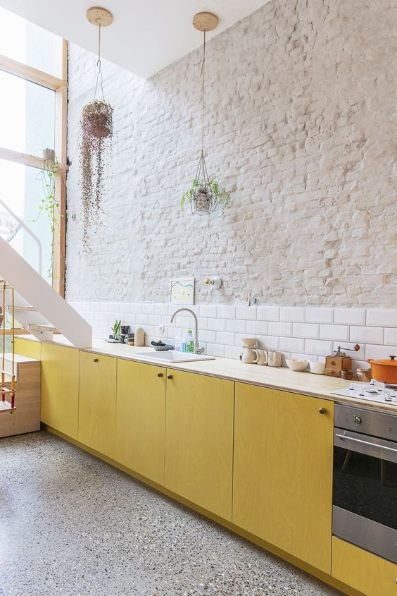 yellow plywood cabinets The Psychology Behind Interior Colors: How To Pick the Perfect Shade?