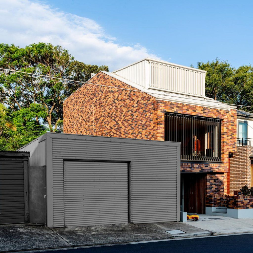 %name A house with a creative brick pattern by Kreis Grennan Architecture