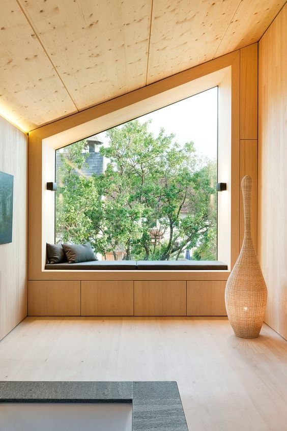 huge window with plywood frame Why Clean Your Windows?