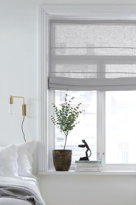linen roller blinds Made to measure roller blinds: how to measure and install?