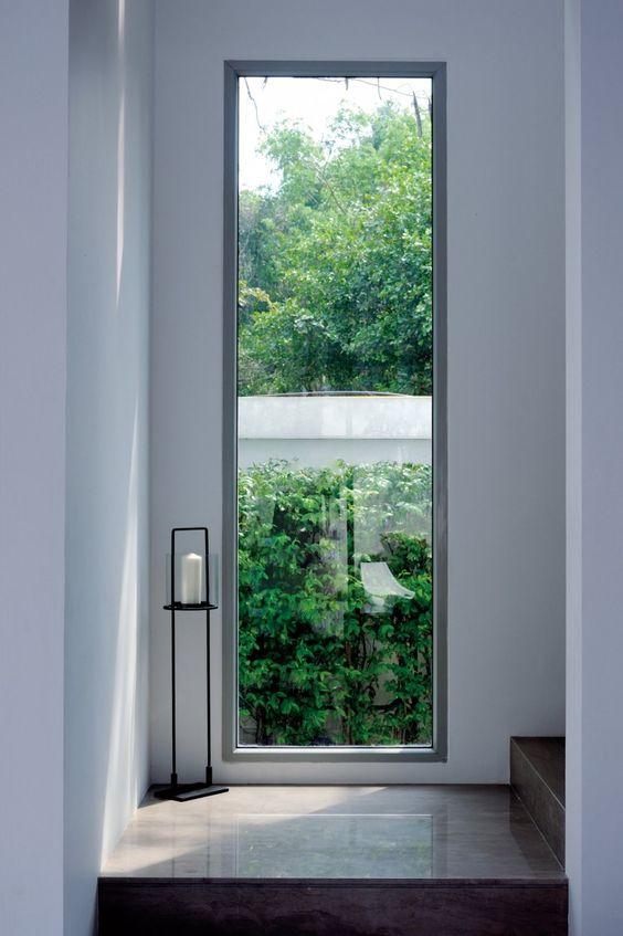 oversized minimalist window Why Clean Your Windows?