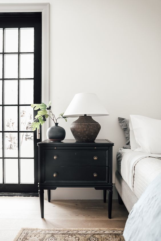 restored night table Make Your Bedroom Eco Friendly With These Upgrades