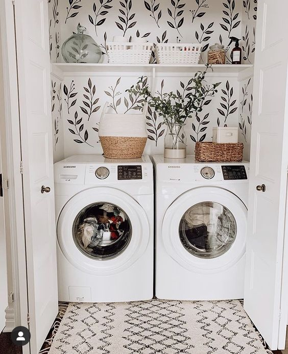 boho laundry room Love Vintage? Heres Some Home Decor Ideas You Need to Try