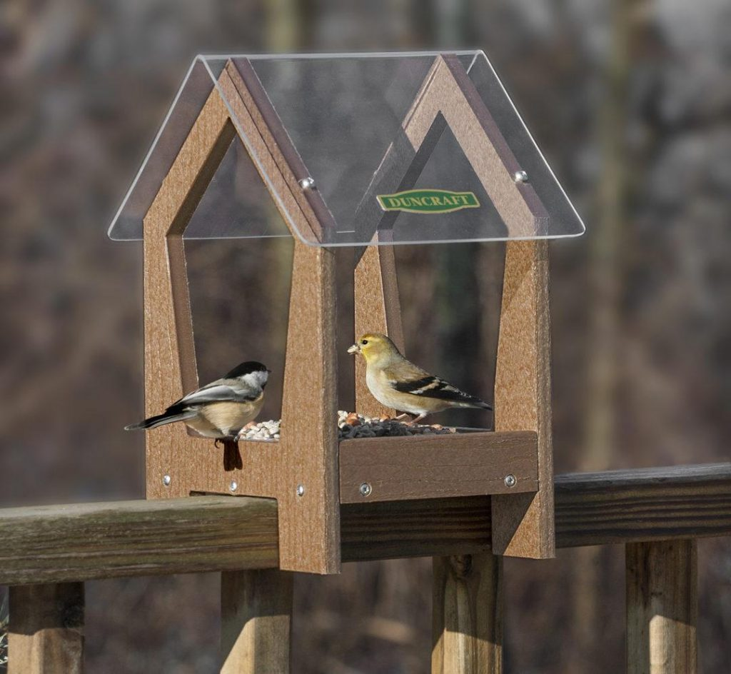 easy diy balcony feeder 1024x944 25 Best Bird Feeders To Attract Birds To Your Garden