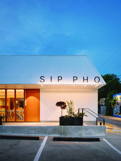 Sip Pho Restaurant by MAGIC architecture