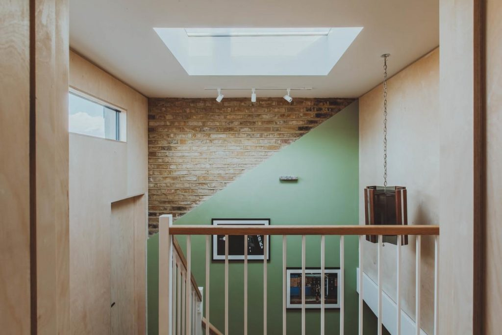 %name A mid terrace family home renovation and extension in Hackney