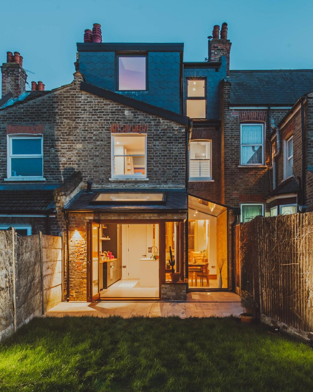 A mid-terrace family home renovation and extension in Hackney