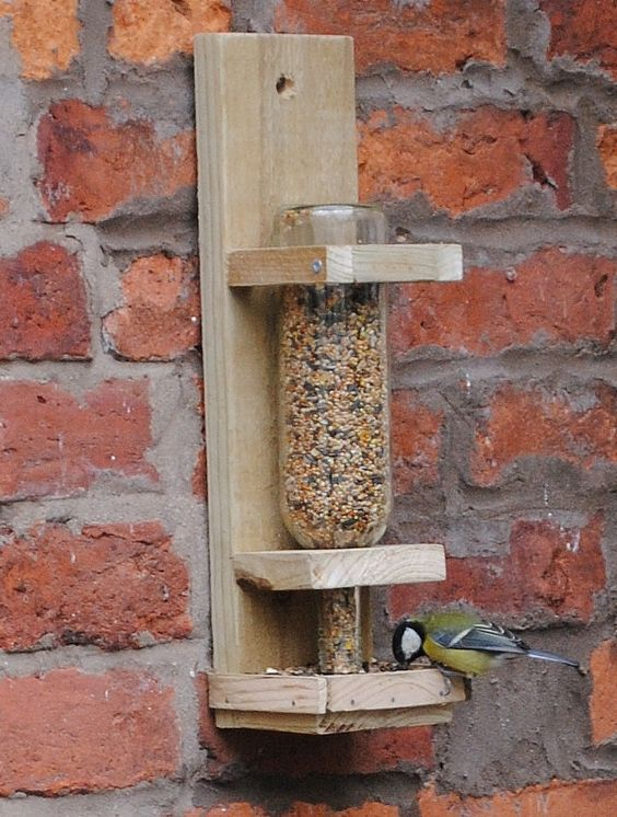 wine bottle bird feeder 25 Best Bird Feeders To Attract Birds To Your Garden