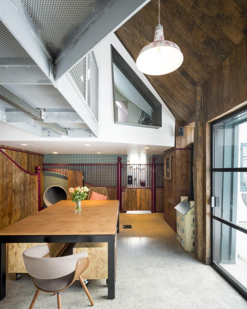 %name Stanyards Cottage in London by Alter & Company