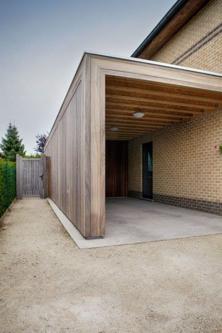 carport as an extension A Cost Effective Way Of Building A Carport