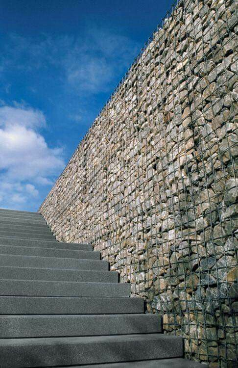 gabion wall Awesome Fence Ideas Perfect For Your Home