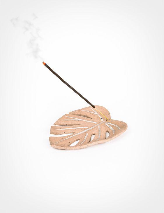 monstera leaf incense burner Incense holder: 50+ best holders you can get right now