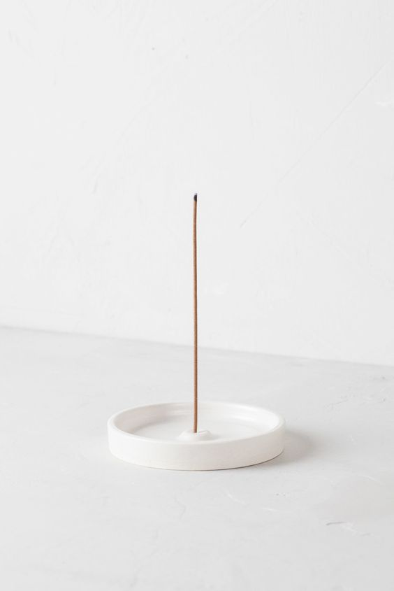 white ceramic Incense holder: 50+ Best Holders You Can Get Right Now