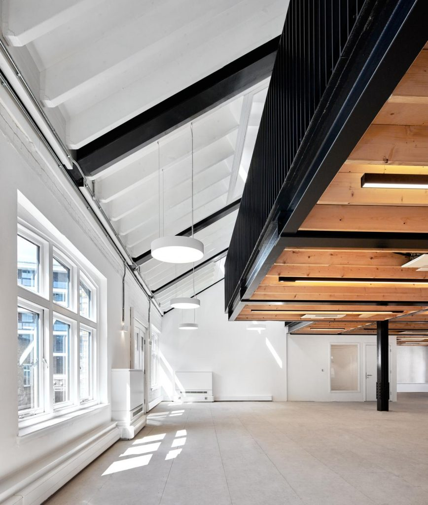 %name Open plan Office Space in an Industrial Building by Platform 5 Architects