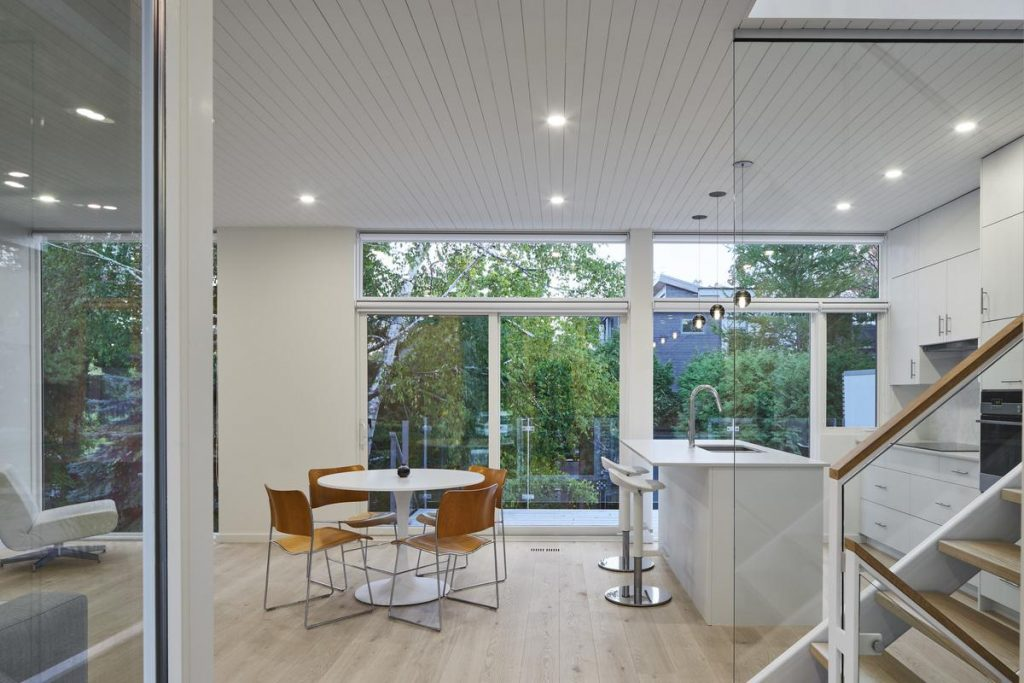 %name Contemporary custom home on Fentiman av by Shean Architects