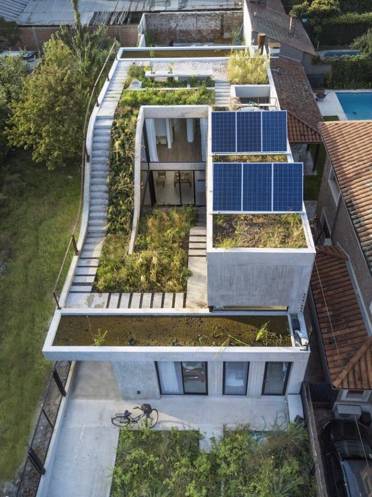 vertical garden and solar panels Reasons Why a Solar Panel System is a Smart Investment