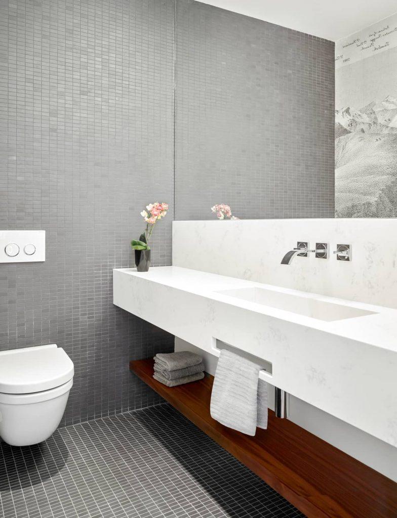 bathroom 784x1024 Garden Circle House by Dubbeldam Architecture + Design