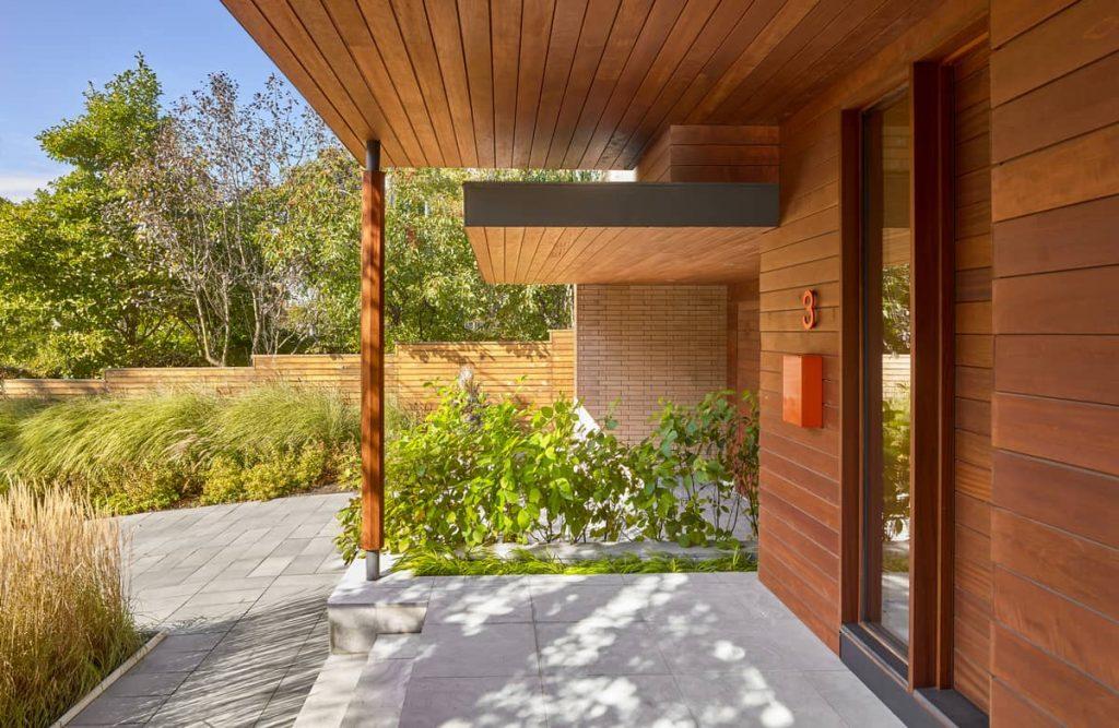 entrance 1024x667 Garden Circle House by Dubbeldam Architecture + Design