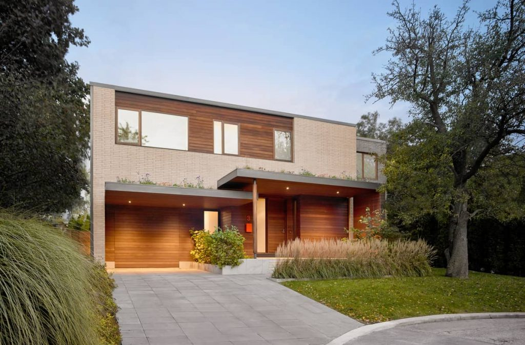 front facade 1024x673 Garden Circle House by Dubbeldam Architecture + Design