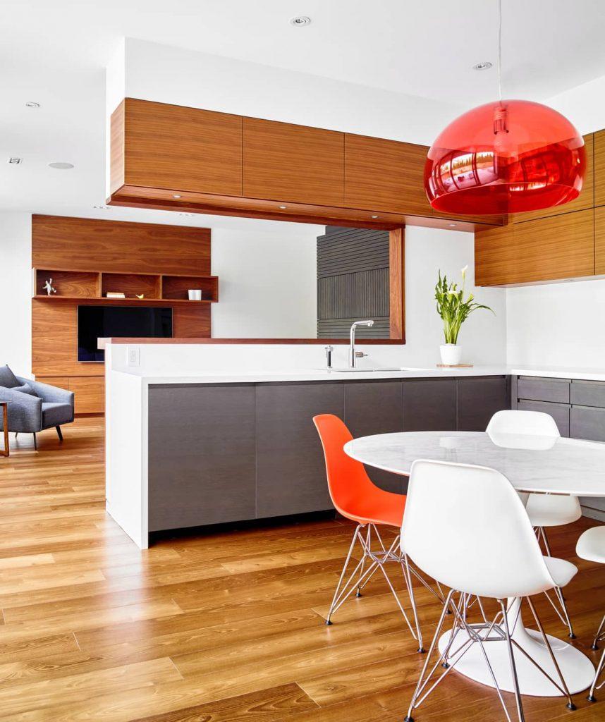 kitchen 858x1024 Garden Circle House by Dubbeldam Architecture + Design