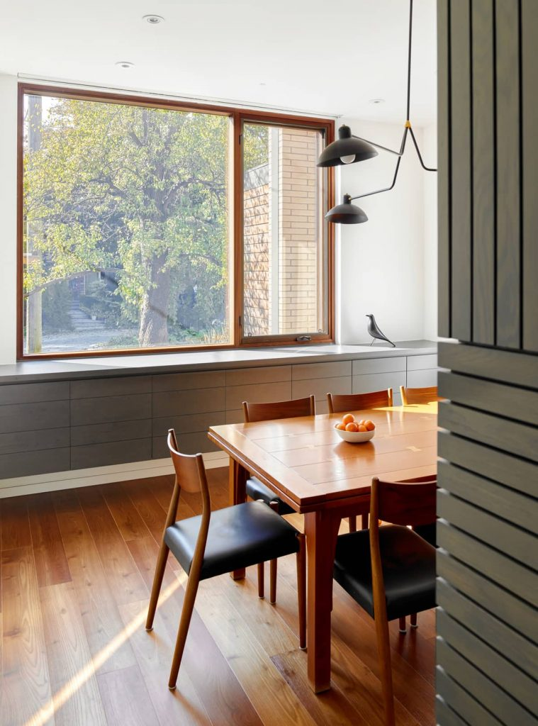 large dining room window 759x1024 Garden Circle House by Dubbeldam Architecture + Design