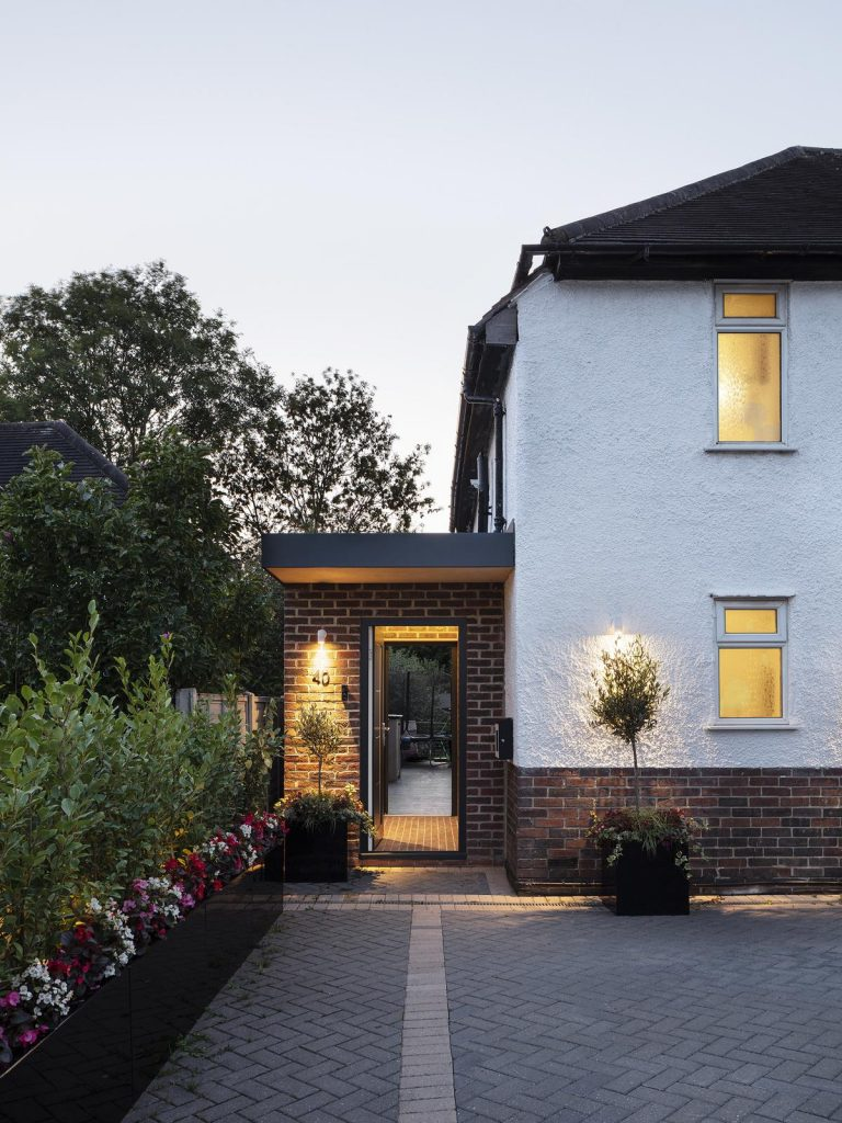 %name XXS Portico Extension by Brosh Architects