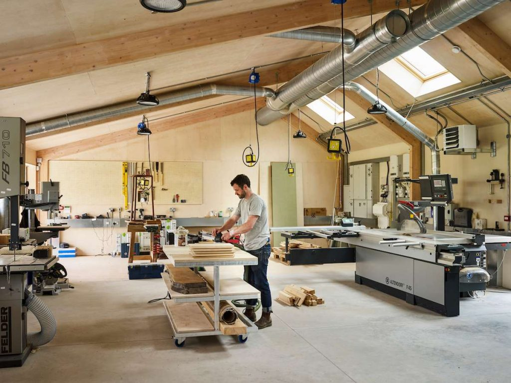 %name Farm Transformation Into a Co working Space for Creative Businesses