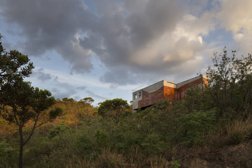 cerrado landscape 1024x683 A Modern Concrete House In Brazil With Stunning Views Of The Sierra da Moeda