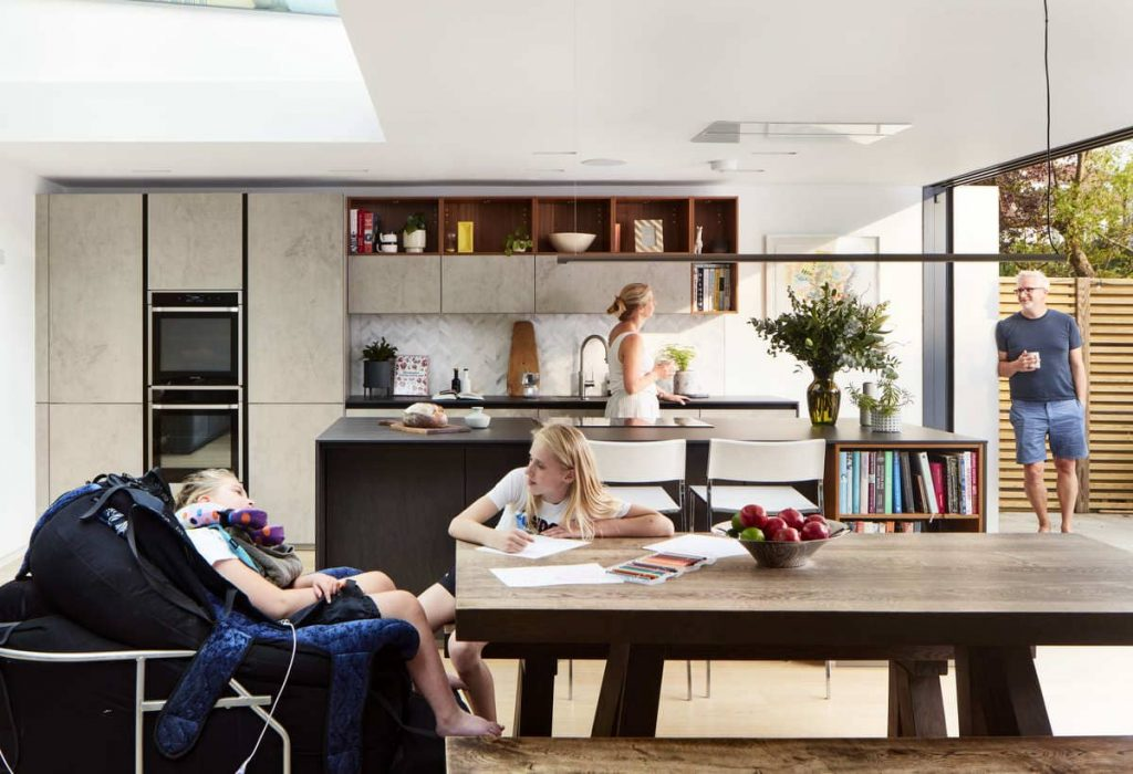 family portrait 1024x700 An Accessible House Designed By COX Architects