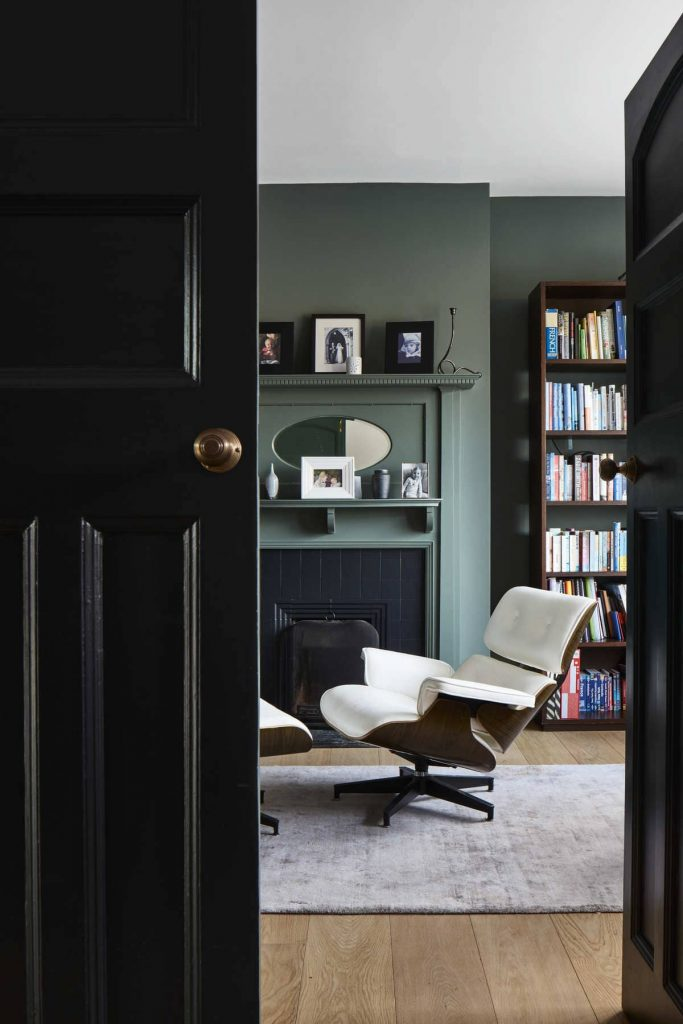 olive eames home office 683x1024 An Accessible House Designed By COX Architects