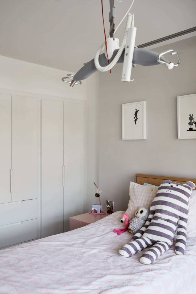 poppys bedroom 683x1024 An Accessible House Designed By COX Architects