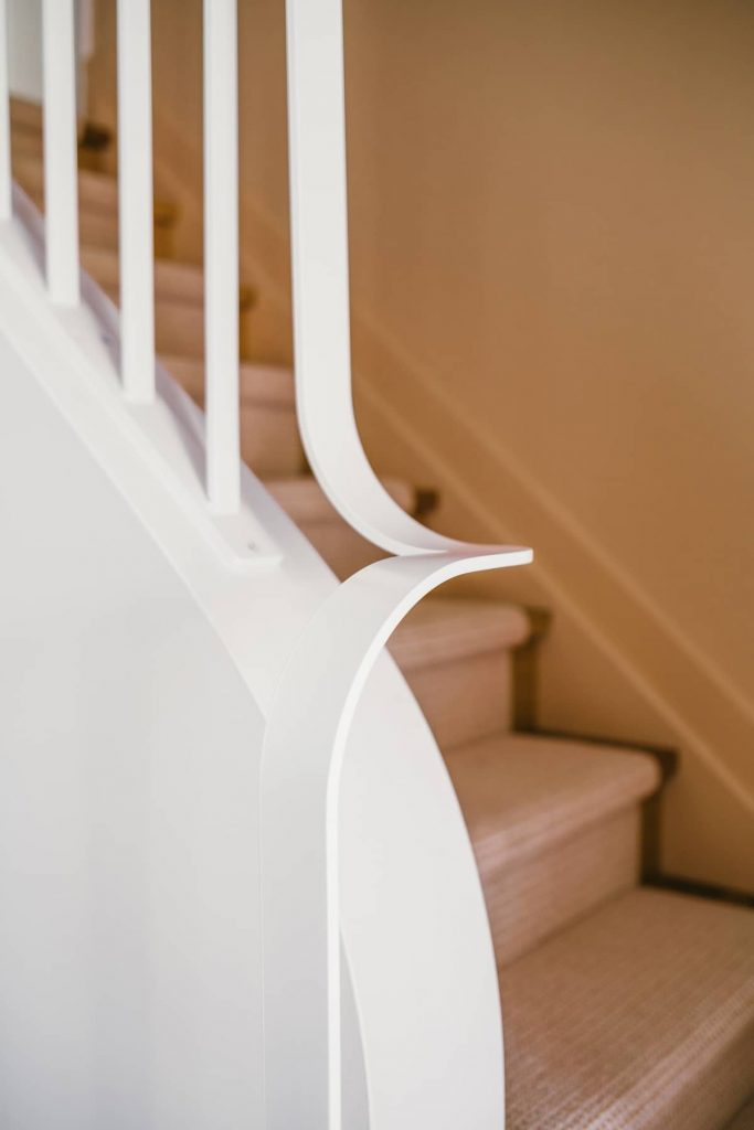 railing detail 683x1024 A Contemporary Renovation of a House in the West End of Toronto