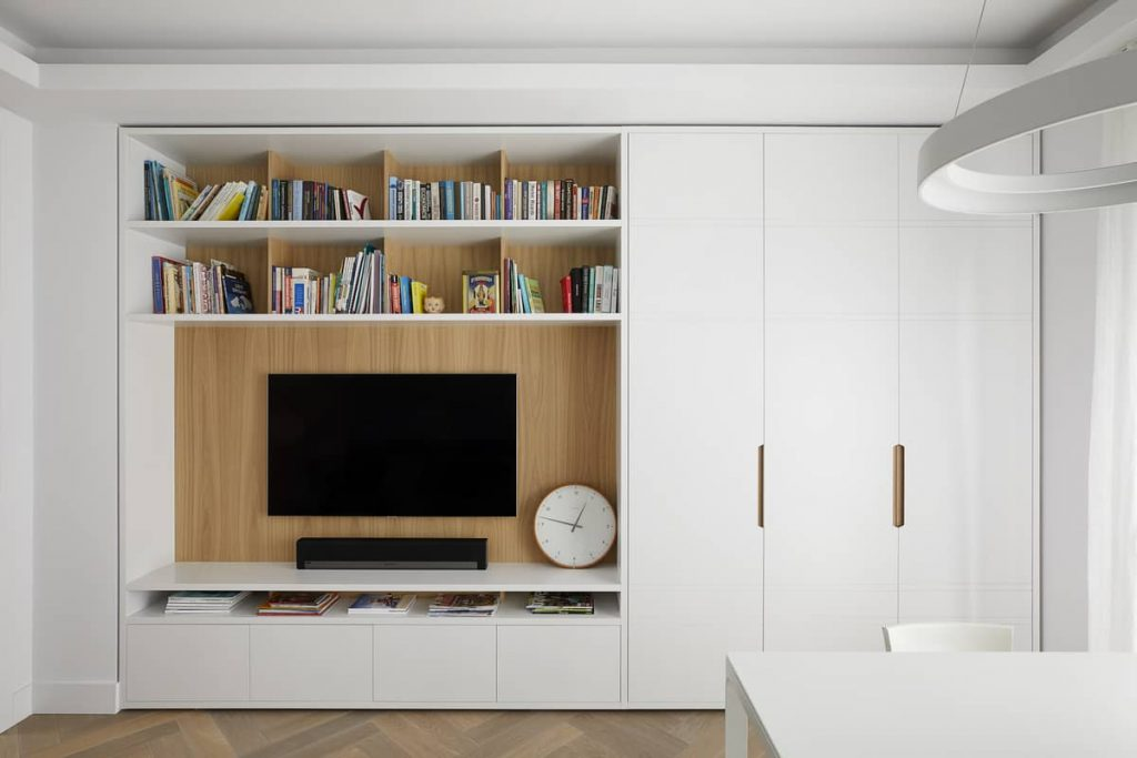 ample storage 1024x683 An Airy Living Space in London by Patalab Architecture