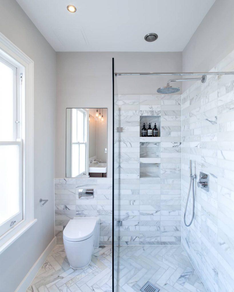 bathroom 1 819x1024 A Meticulous Restoration of the Original Victorian Terrace House