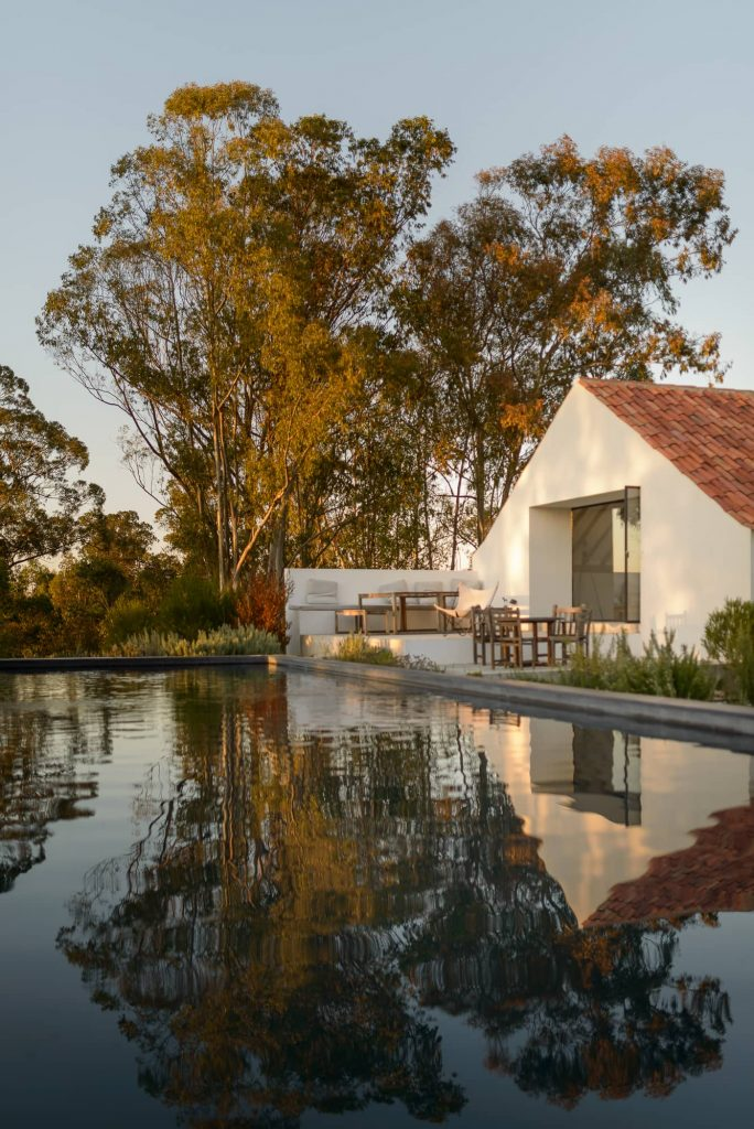 beautiful reflection 684x1024 Enter Arquitectura Converts an Old Warehouse Into a Family Home