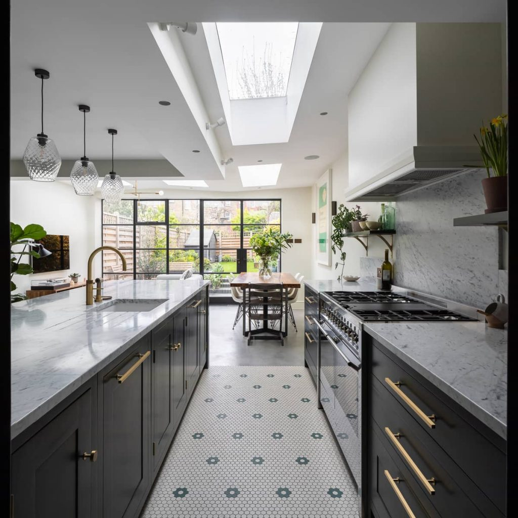 bespoke kitchen 1024x1024 A Meticulous Restoration of the Original Victorian Terrace House