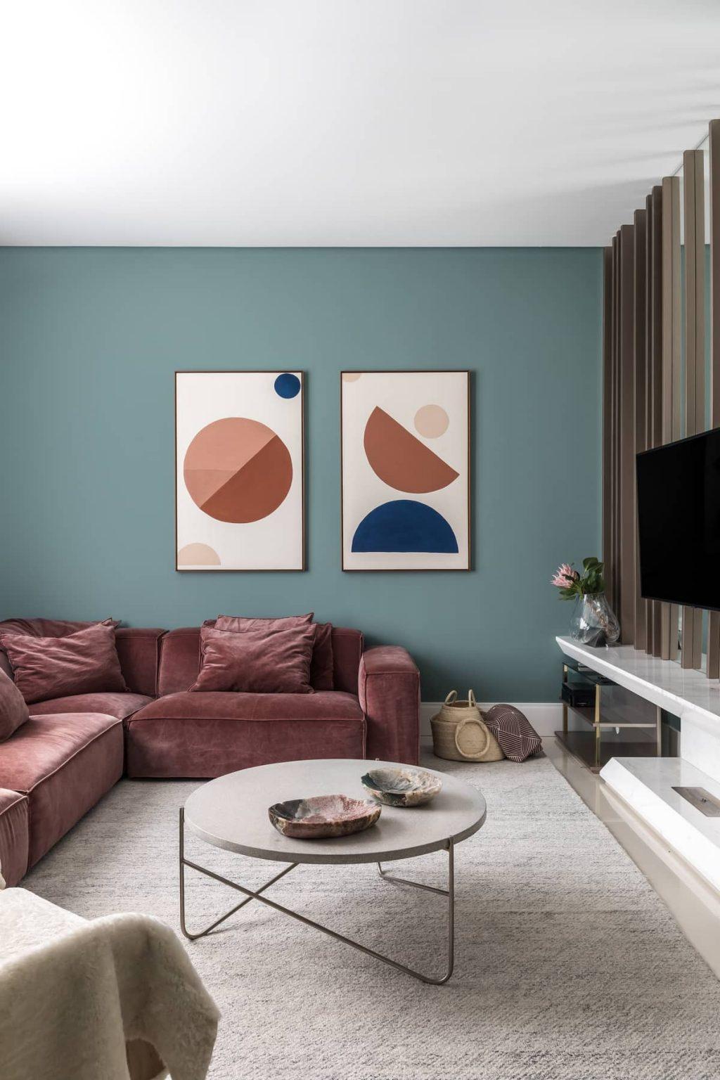 Colorful Apartment Interior by TN Architecture