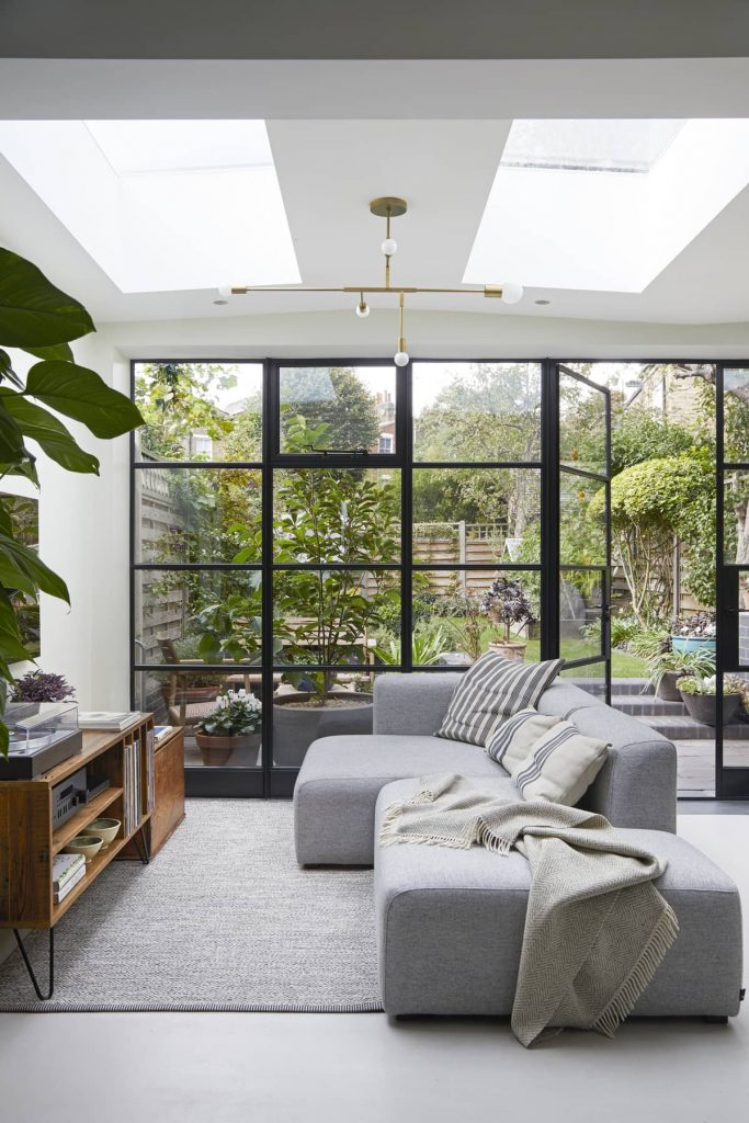 industrial style steel window 683x1024 A Meticulous Restoration of the Original Victorian Terrace House