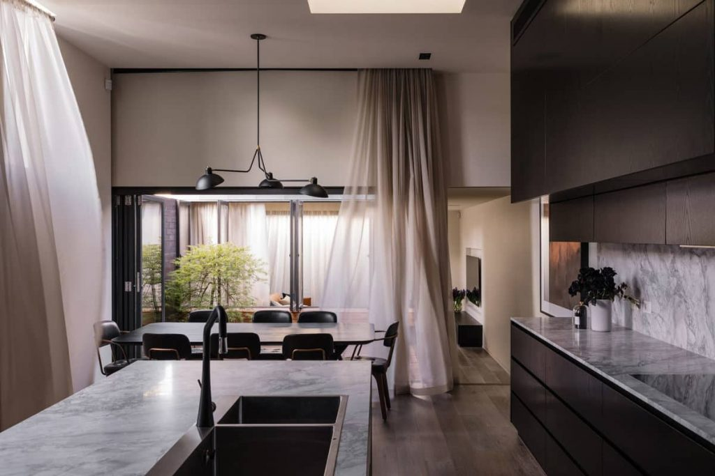 kitchen 1 1024x683 A Zinc Clad Addition by Robert Simeoni Architects
