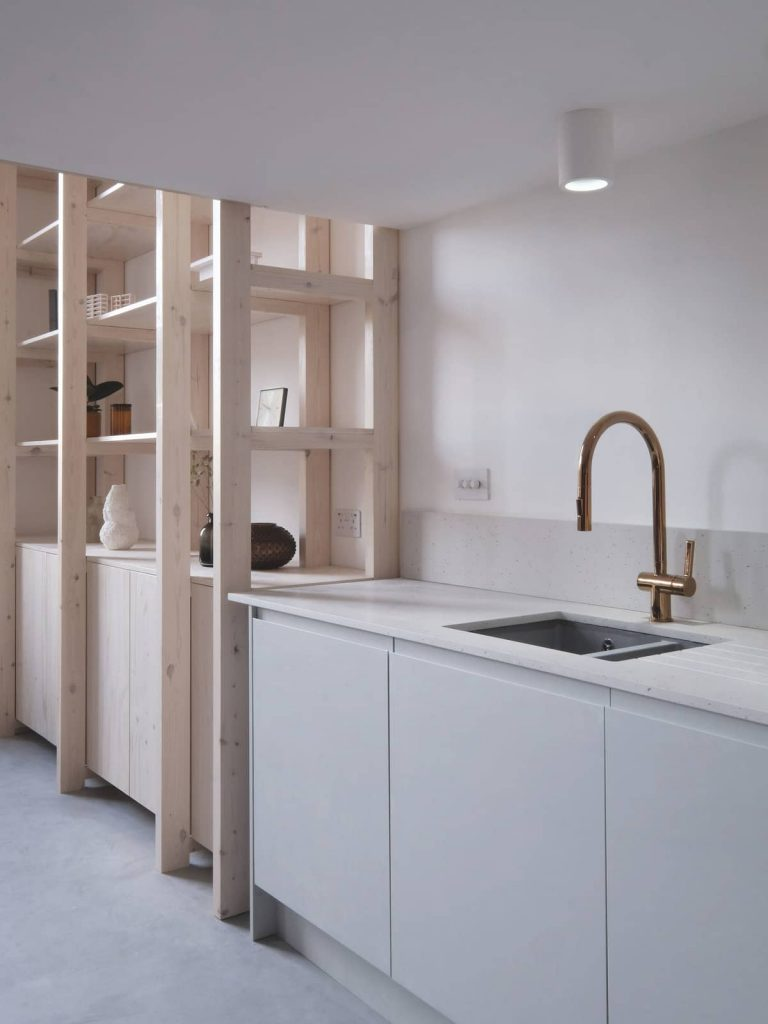 kitchen 768x1024 A Converted Matchstick Factory Becomes a Beautiful Apartment