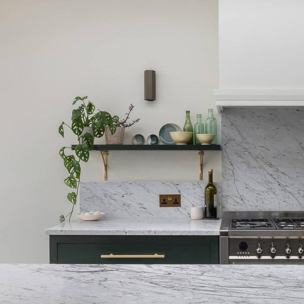 kitchen shelve 1024x1024 A Meticulous Restoration of the Original Victorian Terrace House