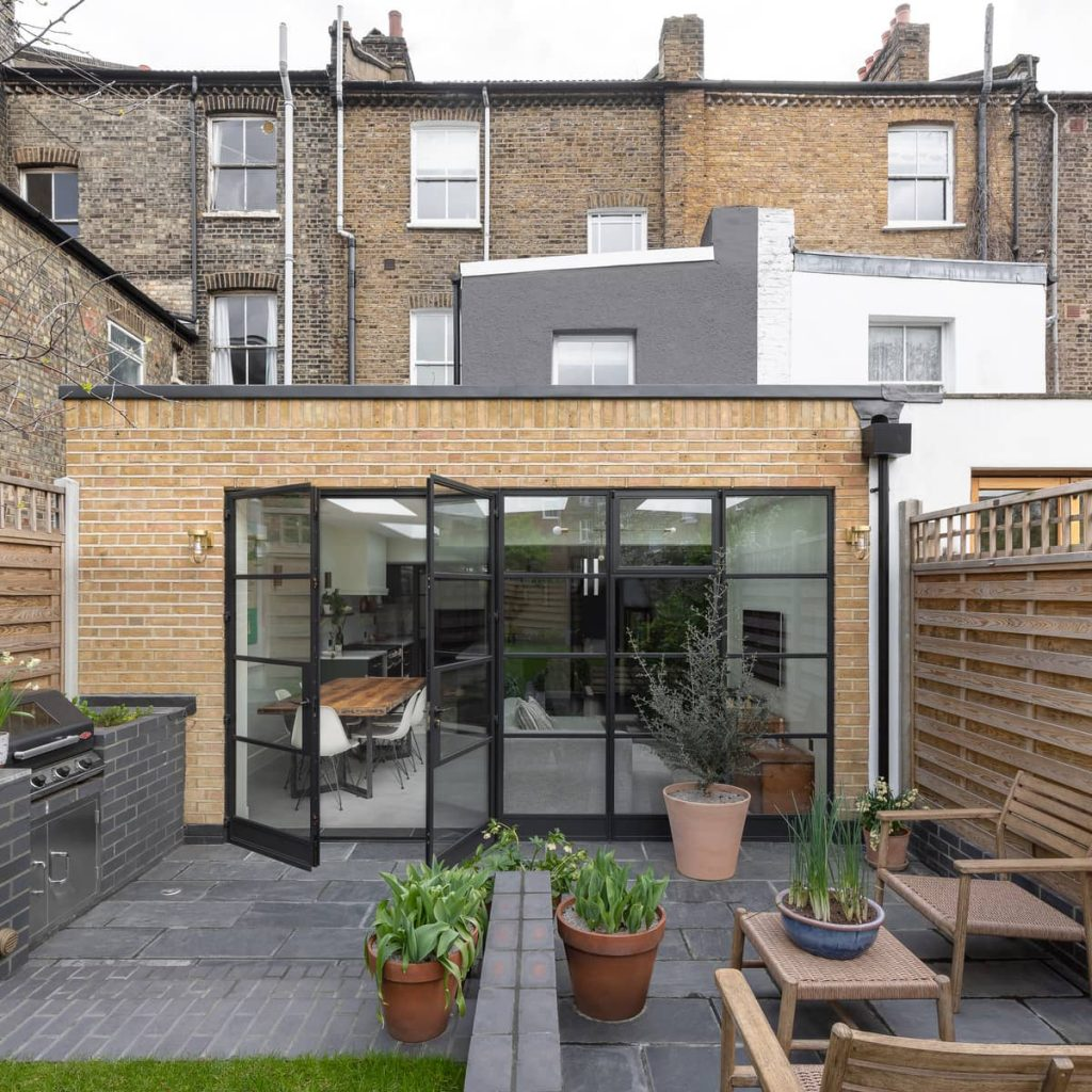 rear extension 1024x1024 A Meticulous Restoration of the Original Victorian Terrace House