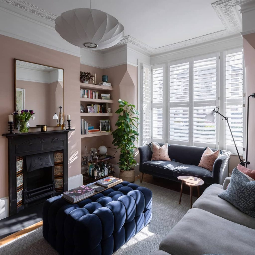relaxation zone 1024x1024 A Meticulous Restoration of the Original Victorian Terrace House