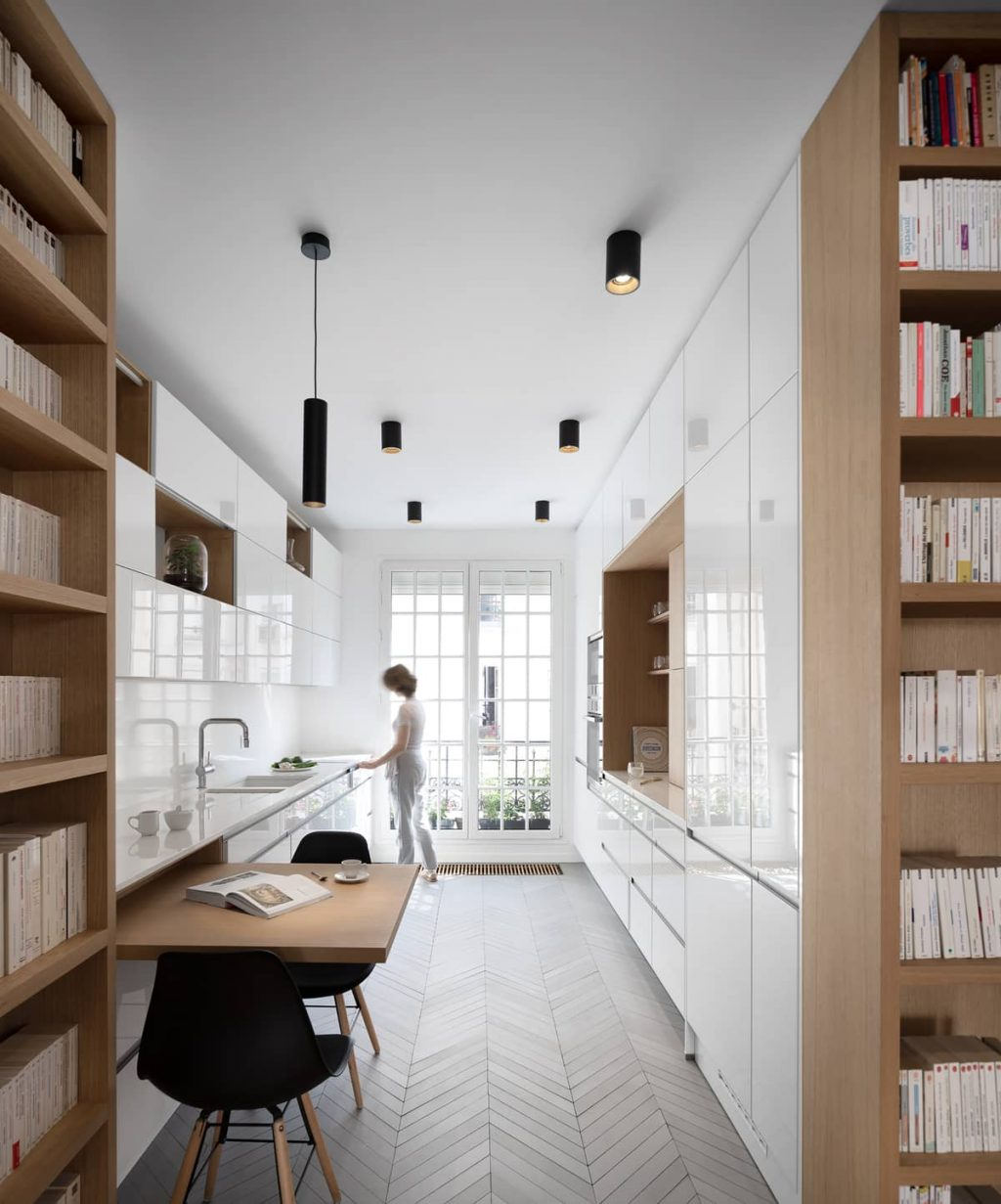 A Two-Bedroom Flat Was Reconfigured Into a Modern Apartment