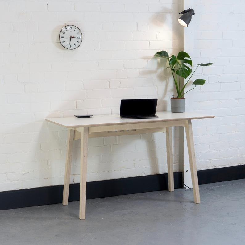 handmade home office desk Our Picks: 10 Best White Home Office Desks You Can Get Right Now