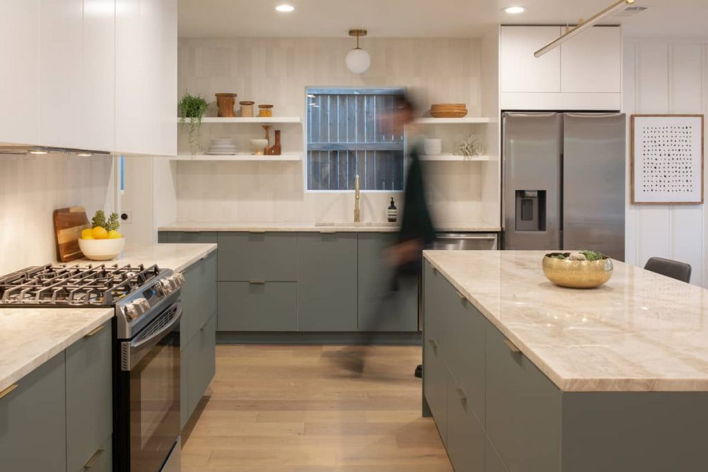 kitchen 1 1024x683 An Addition to a Small 1950s Duplex by Object & Architecture