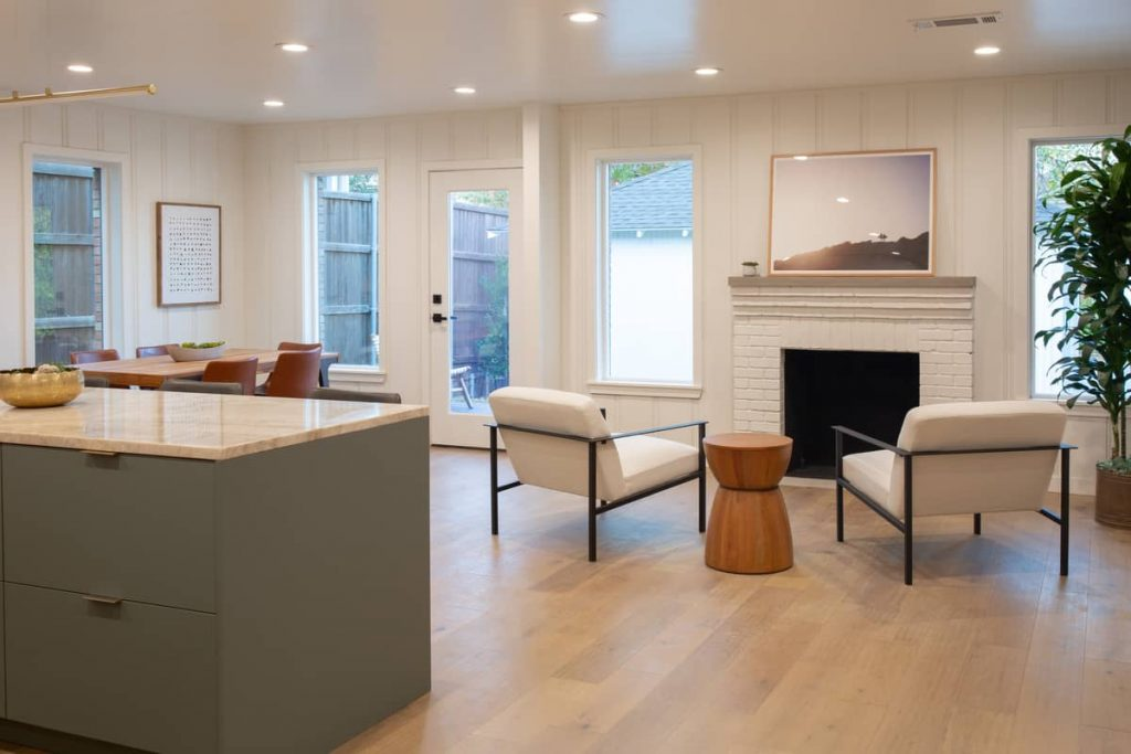 living room 2 1024x683 An Addition to a Small 1950s Duplex by Object & Architecture