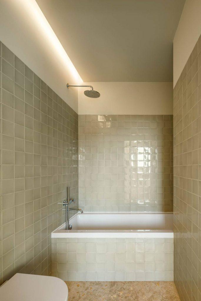 bathroom 683x1024 Subtle Apartment Renovation by Costa Lima Arquitectos